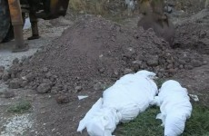 In a remote Greek cemetery, a nameless dead child with no-one to claim her