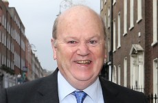Michael Noonan has a view on when the election should be...