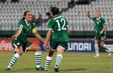 Irish girls march on to quarter finals