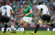Schmidt quietly confident as Ireland centre Payne ditches crutches