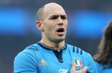 Sergio Parisse has been passed fit and starts against Ireland on Sunday