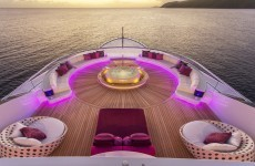 This amazing yacht costs €1 million a week to live on - take a look around
