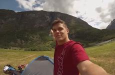 Daredevil Johnny Strange (23) dies in 2,000m Alps jump