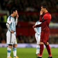 Video: Messi 'watching' the trailer for Ronaldo's movie is brilliant
