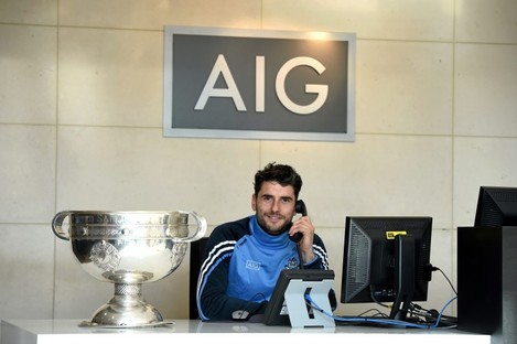 Brogan was speaking at a reception at AIG Insurance's offices in Dublin on Thursday.