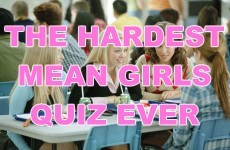 The Hardest Mean Girls Quiz Ever