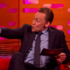 So Tom Hiddleston can do a scarily accurate impression of Graham Norton...