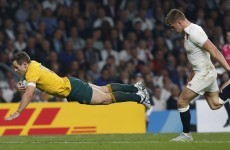 As it happened: England v Australia, Rugby World Cup