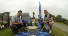 Utmost respect to Michael Darragh Mcauley and Bernard Brogan for this touching gesture