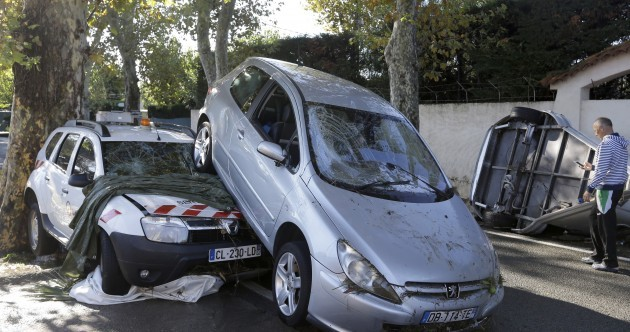 At least seventeen people have died as the south of France reels from devastating storms