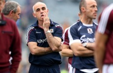 Galway hurling in crisis as players issue vote of no confidence in manager Anthony Cunningham
