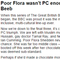 People are not impressed with this 'racist' Daily Mail article about GBBO