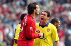 10 brilliant photos from Arsenal v Manchester United down through the years