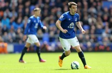 Bad news for Ireland as Seamus Coleman hasn't even made the Everton squad today
