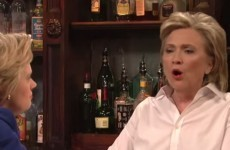 Hillary Clinton just did an impression of Donald Trump