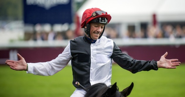 Frankie Dettori and Golden Horn ripped up the script at the Arc this afternoon