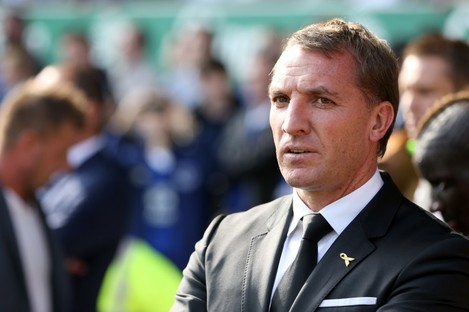 Brendan Rodgers: didn't win any trophies at Anfield.