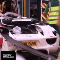 Five critically injured as supercar spins off track and crashes into crowd