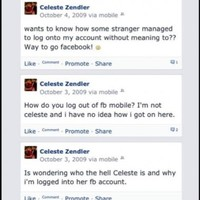 An odd Facebook glitch between two strangers ended in marriage