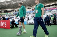 Ireland hopeful over Payne with outside centre wearing moon boot