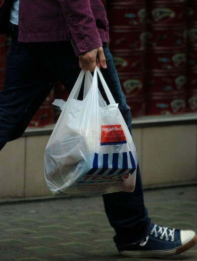 UK in 'chaos' over plastic bag levy. What's all the fuss about? We did that 13 years ago...