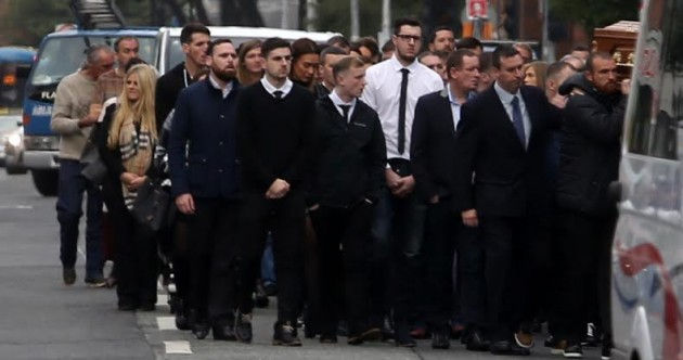Funeral of murdered criminal Gary Hutch takes place in Dublin
