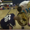 This reporter lost his mic down a tuba in the biggest facepalm moment ever