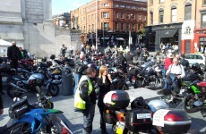 "Irish Bikers protest at ""unjust"" safety proposals"