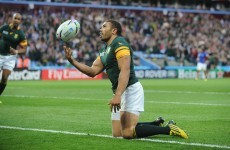 'That belief didn't disappear with the Japan defeat' - Habana proud of how Springboks bounced back