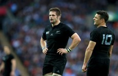 Hip knock means McCaw can only pull level in RWC record appearance chase