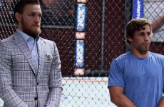 McGregor had the chance to draw level with Faber on The Ultimate Fighter last night