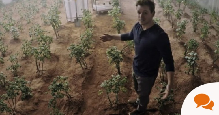 Matt Damon used manure to grow potatoes on Mars - it works pretty