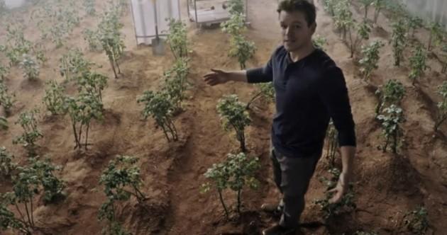 Matt Damon used manure to grow potatoes on Mars - it works pretty well down here too