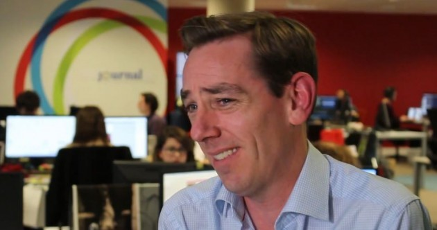 Tubridy's 'slightly odd' encounters with Patrick Guinness, Ryan O'Neal ... and Brendan O'Connor