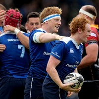 'It was almost like I was in a different club' - McFadden learning from Leinster's young guns