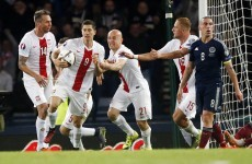 Last-gasp Lewandowski puts slight blemish on Ireland's night