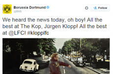Borussia Dortmund have just made us love them even more with this tweet