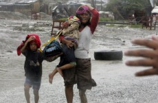 Video: Seven killed, thousands evacuated as typhoon strikes Philippines