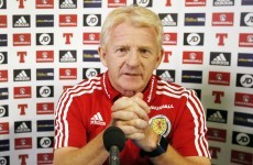 Strachan coy over future after Scots' Euro flop