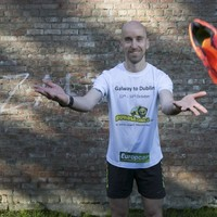 From coast to coast - this man is running from one side of the country to the other in 5 days