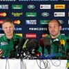 Irish rugby squad 'inspired' by performance of the island's two football teams