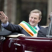 Enda thinks the government's job is like shoving a broken-down car up a long hill