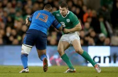 'Johnny is a big guy and he can make his own tackles' Henshaw relishing the physical French