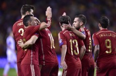 Spain and Switzerland book their place at Euro 2016 while England win again
