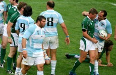 Ireland will meet Argentina in the Rugby World Cup quarter-final