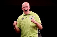 Michael van Gerwen can win his third World Grand Prix title in Dublin tonight