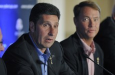 Olazabal says he won't play in Ryder Cup