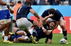 Laidlaw sends Scotland into quarters after thrilling win over Samoa
