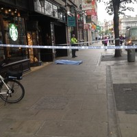 Questions raised after man dies on busy Dublin street