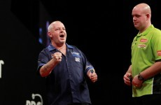 Major upset in Dublin last night as Michael van Gerwen loses Grand Prix crown in thriller